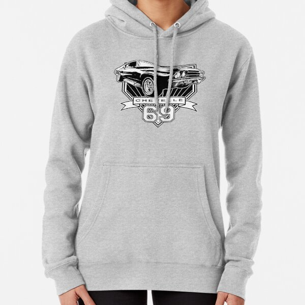 69 Chevelle Pullover Hoodie