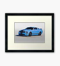 2013 Ford Mustang GT500 Framed Print