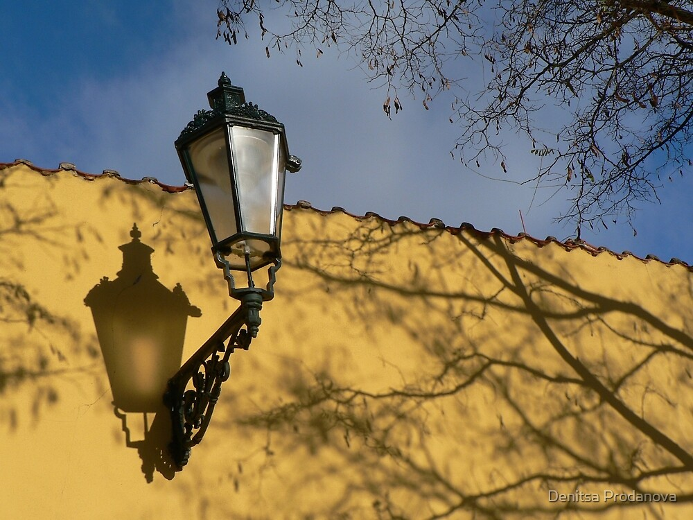 Lantern in Prague by Denitsa Prodanova