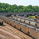 Railroad Yard by Jack Ryan