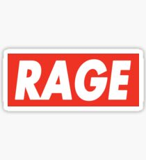 Rage - Critical Role (Obey Inspired) Sticker