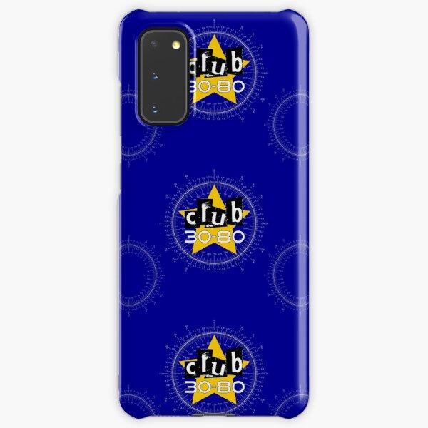 Club 30-80 logo, yellow star on a degree radian chart Samsung Galaxy Snap Case