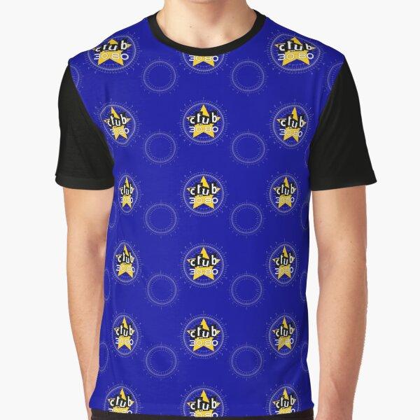 Club 30-80 logo, yellow star on a degree radian chart Graphic T-Shirt
