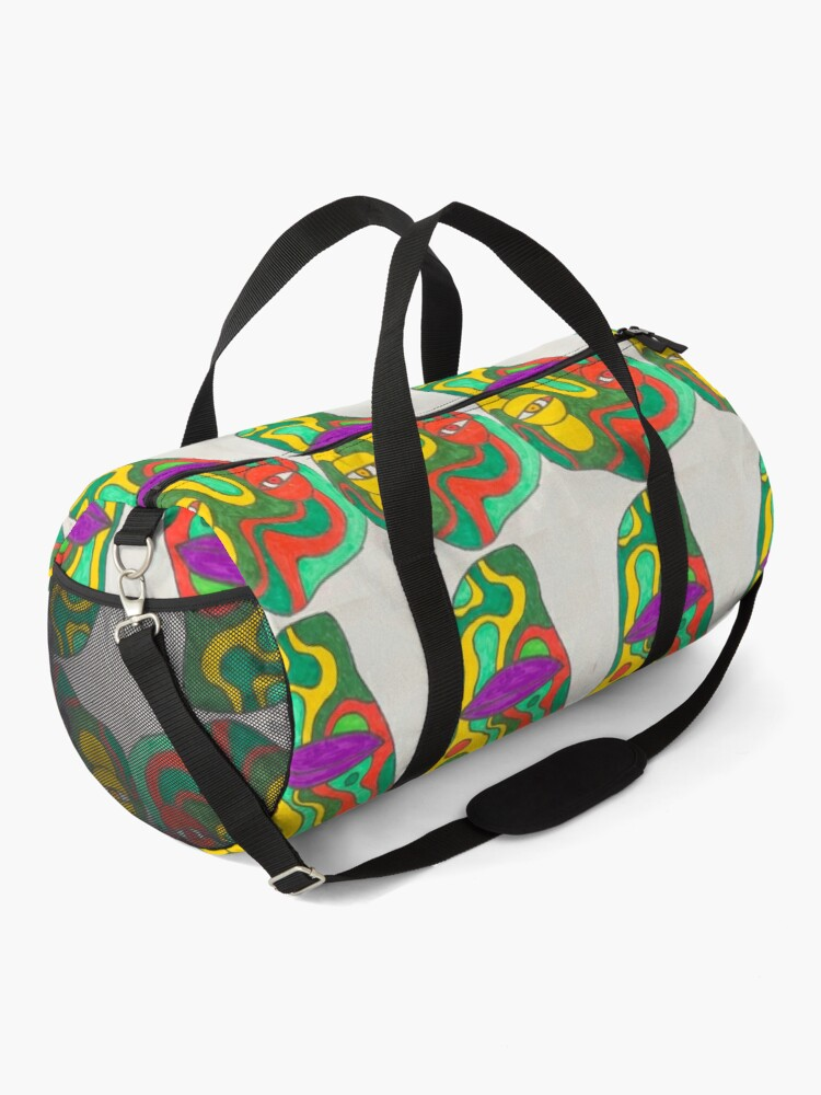 Alternate view of Truly trippy creature  Duffle Bag