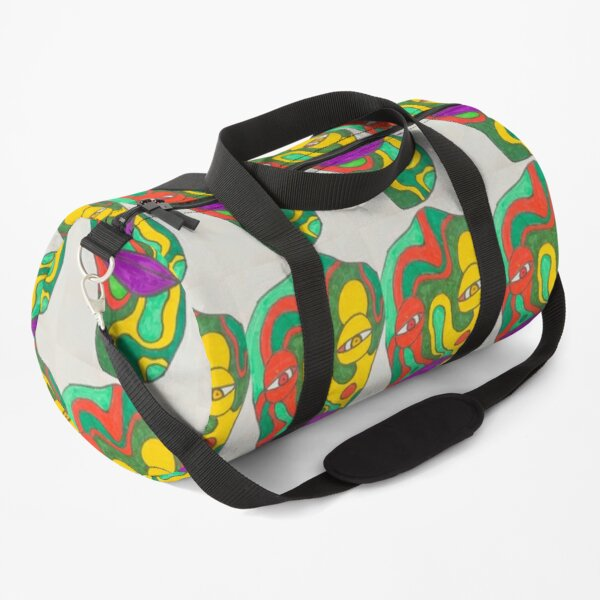 Truly trippy creature  Duffle Bag