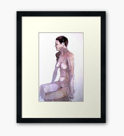 Carmen.01 Framed Print