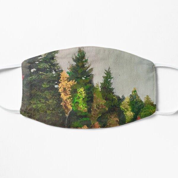 Upstate New York Gorges Flat Mask
