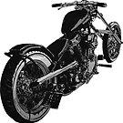 motorbike by mindgoop
