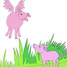 pigs might fly by mindgoop