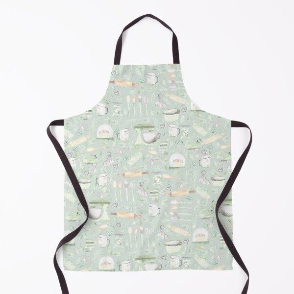 Baking Pattern | Mint Green | Texture Apron