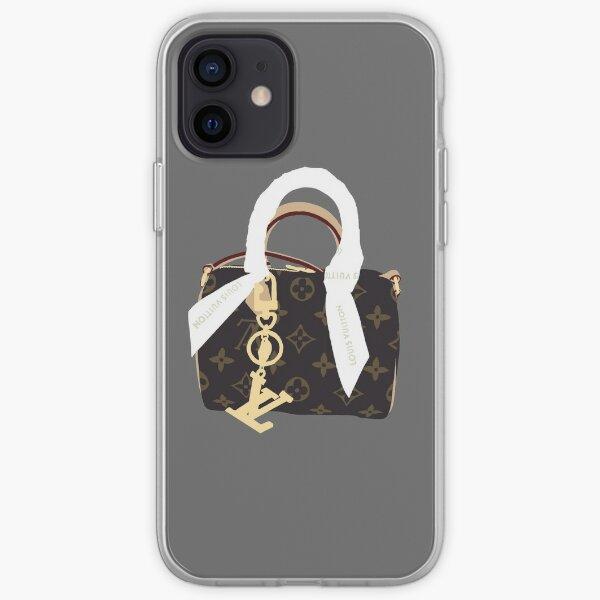 Monedero LV Funda blanda para iPhone