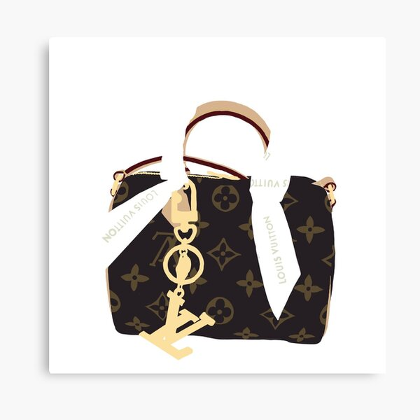 LV Purse Canvas Print