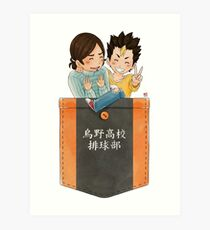 Pocket Asanoya Art Print