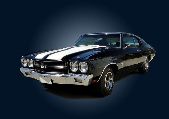 1970 Chevrolet Chevelle SS [on blue] von FORESTKAT