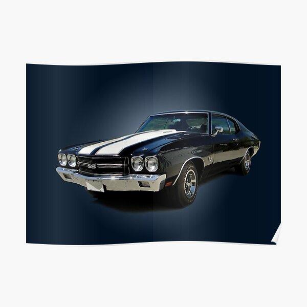1970 Chevrolet Chevelle SS [on blue] Poster