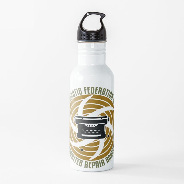 Galactic Federation of Typewriter Repair Rangers Water Bottle