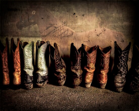 Cowboy Boots by richardbrosseau