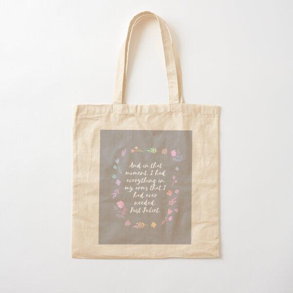 Just Juliet Cotton Tote Bag
