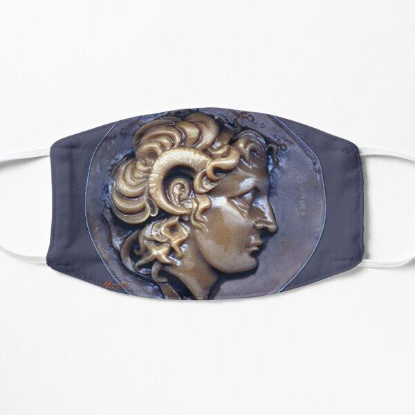 Alexander The Great: Greek Drachma Flat Mask