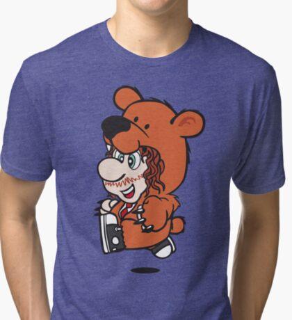 Marioholic Tri-blend T-Shirt