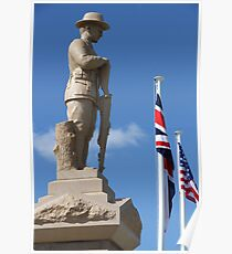 Cenotaph, Southport, QLD Poster