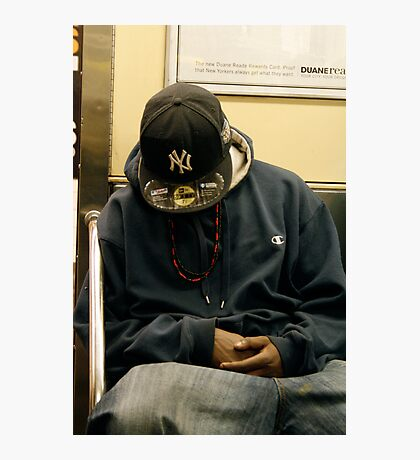 SUBWAY 1143/  The N. Y. Cap... Photographic Print
