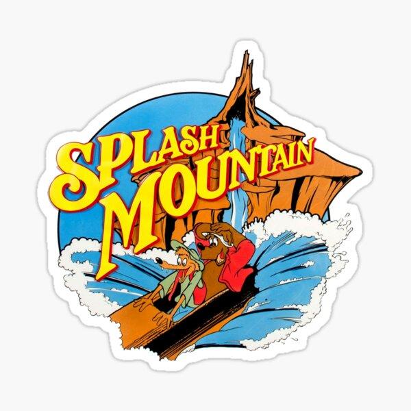 Splash Mountain vintage  Sticker