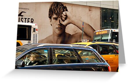 Early Morning Manhattan  (5th. Avenue)  by Mart Delvalle