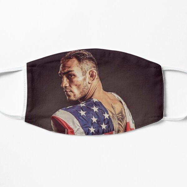 Tony Ferguson luchador de MMA con la bandera americana Mascarilla plana