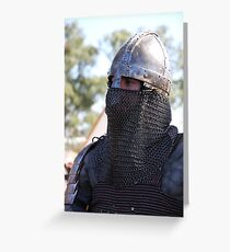 Celtic Armour Greeting Card