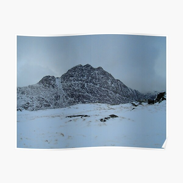 tryfan in winter Poster