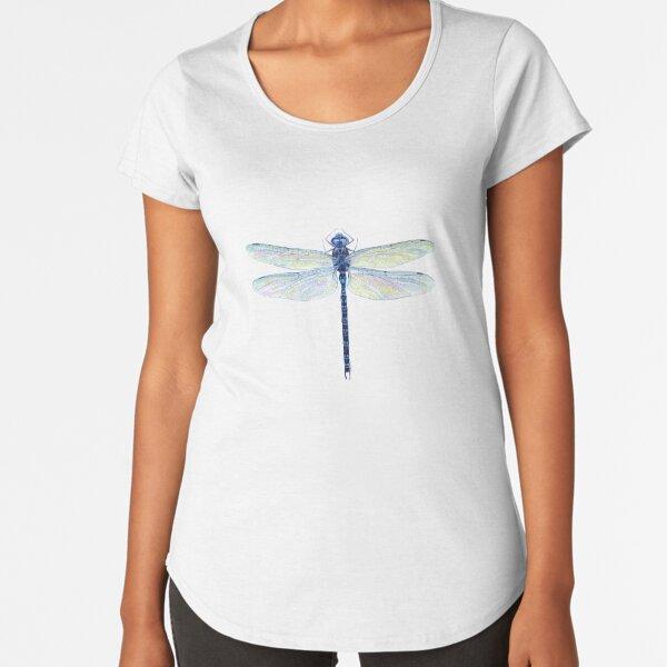 Spatterdock Dragonfly Premium Scoop T-Shirt