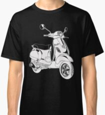 Modern Scooter Illustration Classic T-Shirt