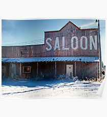 Saloon Poster