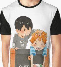 Pocket Kagehina Graphic T-Shirt