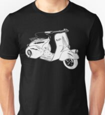 Classic Scooter Illustration Unisex T-Shirt
