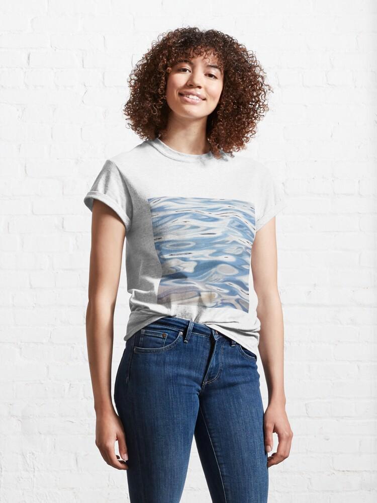 Alternate view of Plotline - water painting Classic T-Shirt