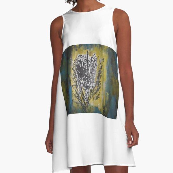 Hidden Shade A-Line Dress
