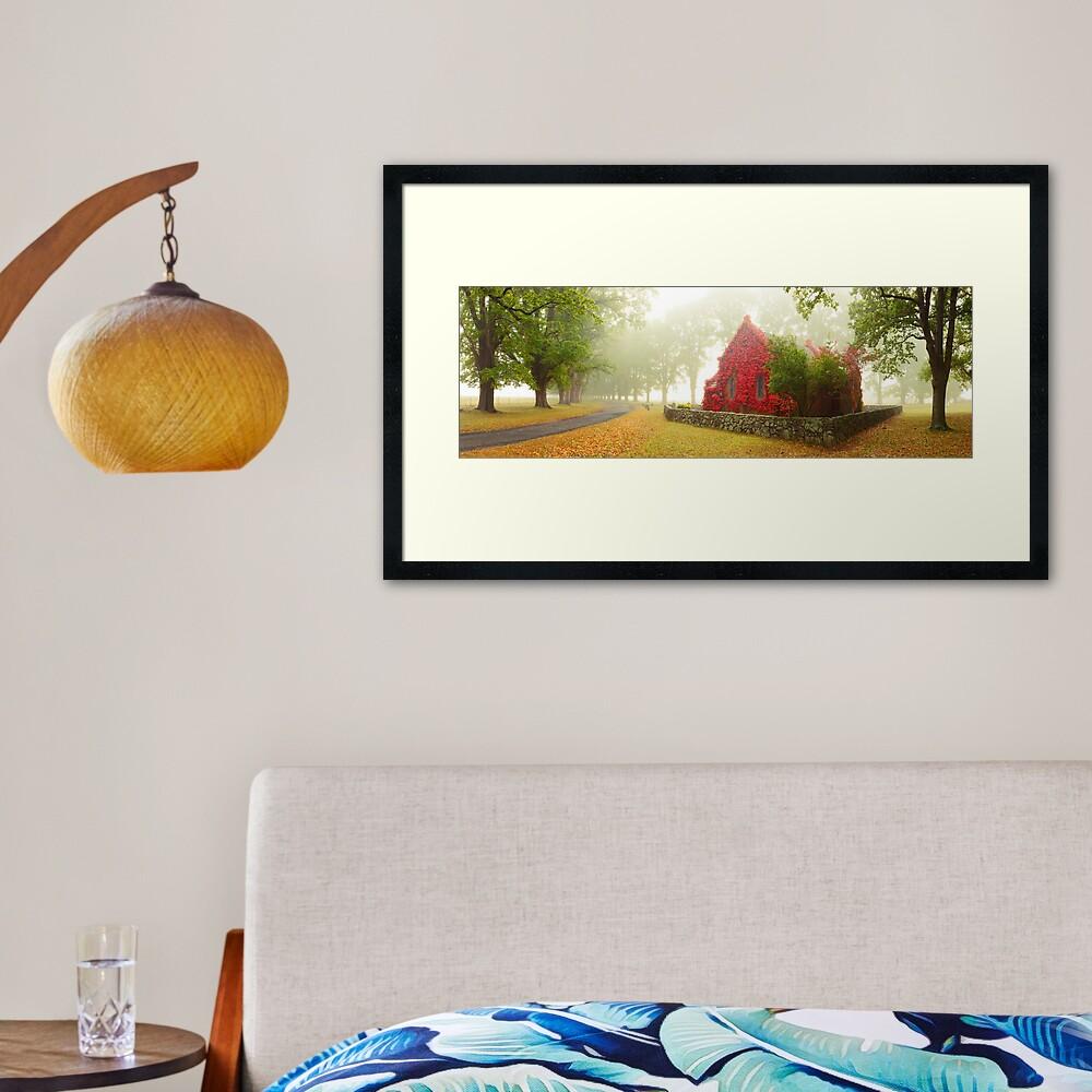 Gostwyck Chapel, Armidale, New South Wales, Australia Framed Art Print