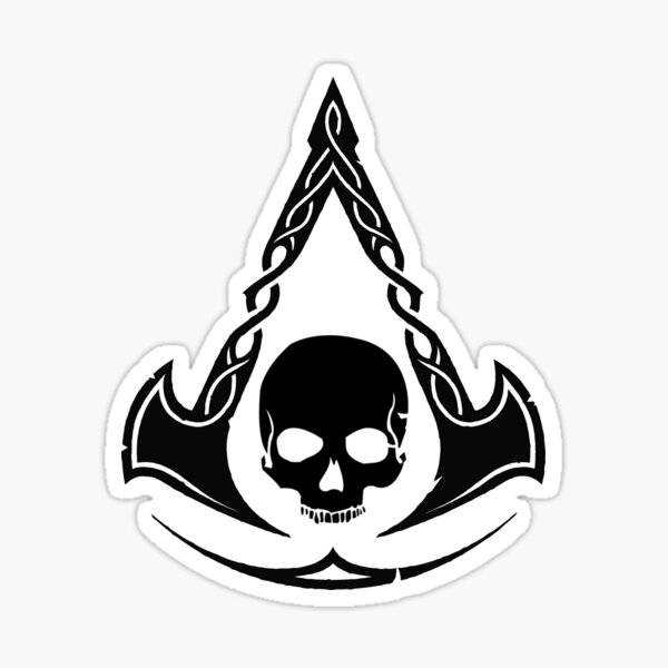 Assassins Creed Black Flag Stickers Redbubble