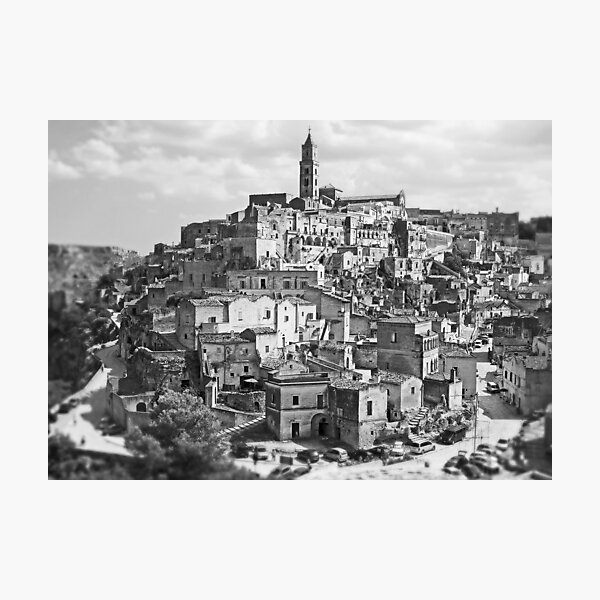 The Mythical Landscape of Matera Photographic Print