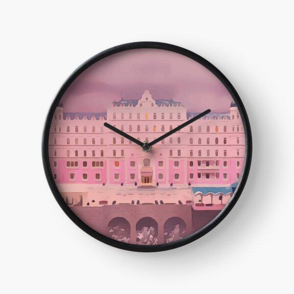 Pantone The Grand Budapest Hotel Clock
