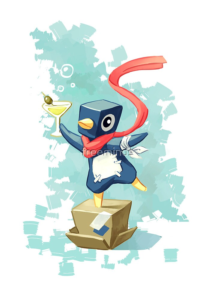 Party Penguin by freeminds