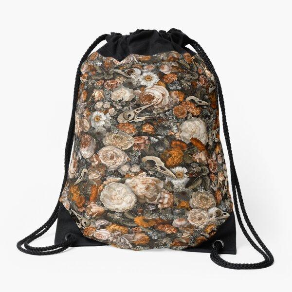 Baroque Macabre Drawstring Bag