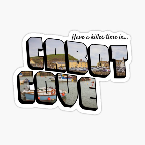 Have a Killer Time in Cabot Cove Sticker