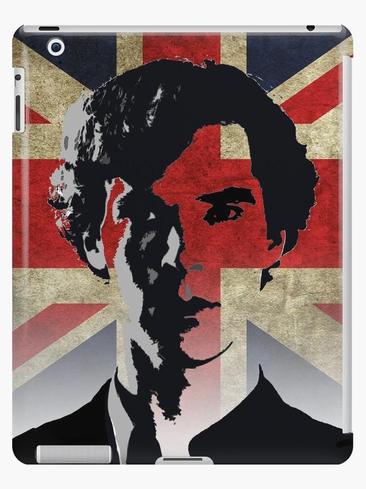 Sherlock Homes  - Union Flag Ipad Case by dgoring