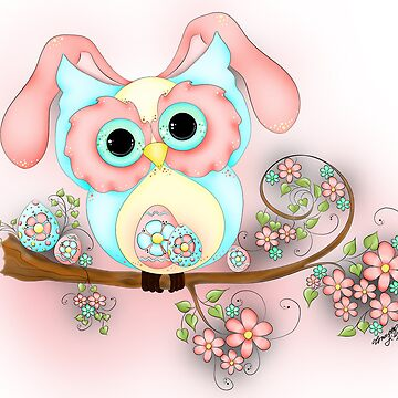 Little Miss Easter Hooty by ckdesigns