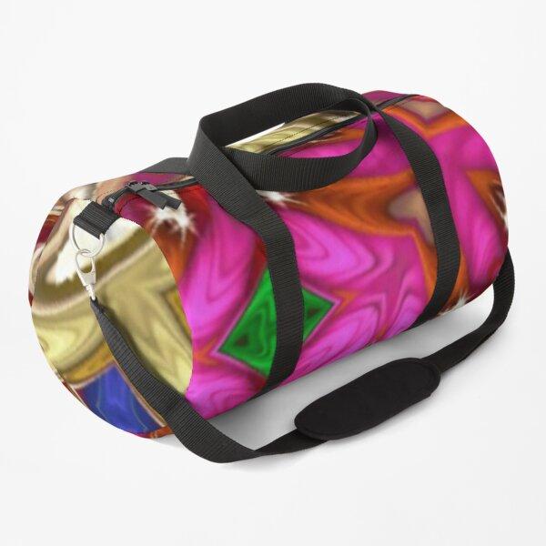 Hint of Pink Duffle Bag