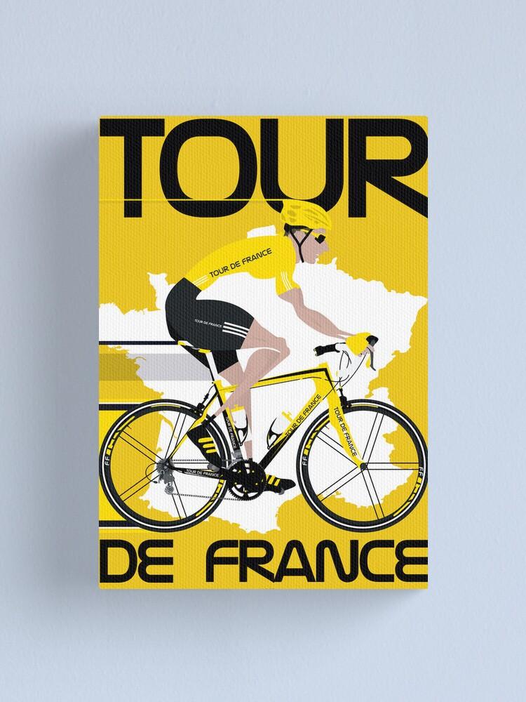 Alternate view of Tour De France Canvas Print