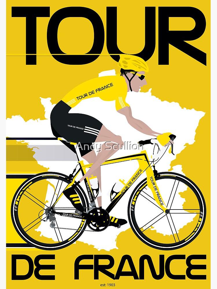 Tour De France by AndyScullion